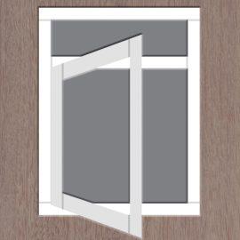1-vaks-raamkozijn-draai-bovenlicht