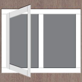 2-vaks-raamkozijn-draai-links
