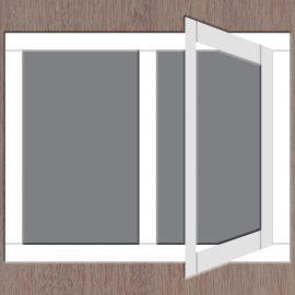 2-vaks-raamkozijn-draai-rechts