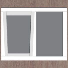 2-vaks-raamkozijn-kiep-links